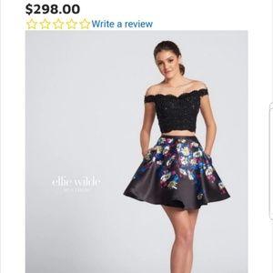 2 Piece Short Prom/Dance/ Formal Dress